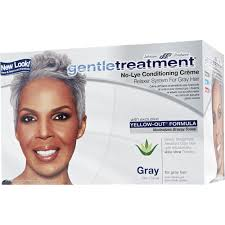 perm for grey hair gentle treatment no lye conditioning crème relaxer for gray hair