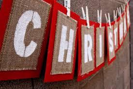 burlap christmas burlap christmas banners happy holidays