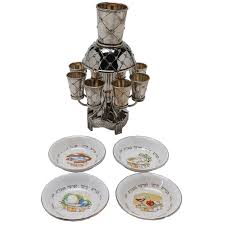 seder dishes karshi jerusalem kiddush wine and vintage seder dishes ebth