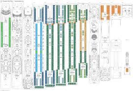 carnival sunshine floor plan msc magnifica deck 11 deck plan tour