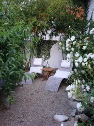 Pea Gravel Patio Pea Gravel Patio Landscape Contemporary With Roses Transitional