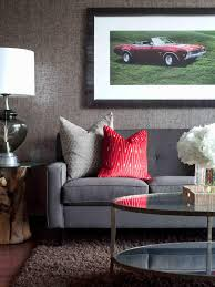Color Schemes For Living Room With Brown Furniture Bachelor Pad Ideas On A Budget Hgtv