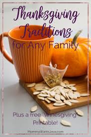 thanksgiving traditions for any family momma wants java