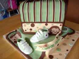 monkey baby shower ideas for boys awesome diaper bag cakes for