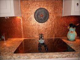 Copper Penny Tile Backsplash - kitchen backsplashes hammered copper panel for kitchen