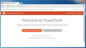 use microsoft office templates from a browser with office online