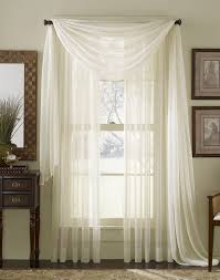 curtain use a bungee cord to instantly hang a second sheer