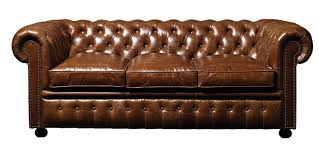 Traditional Black Leather Chesterfield Sectional Sofa With Sleeper