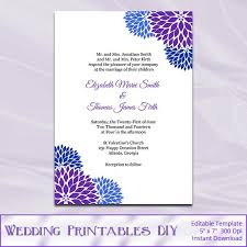 29 wedding invitations templates purple vizio wedding