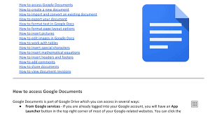 How To Make A Resume On Google Docs Using Google Documents Google Docs