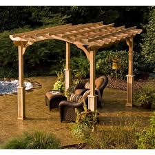 10 X 10 Pergola by 10 X 20 Pergola Kit Schwep