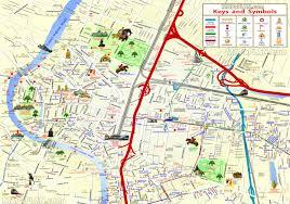 Top Spot Maps Bangkok Top Tourist Attractions Map 04 Detailed 3d Birds Eye