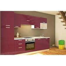 cuisine tout compris cuisine tout equipee cuisine acquipace gris brillant l240 cm