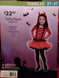 Halloween Costume 3t Tutu Devil Toddler Halloween Costume 3t 4t 1 Dress 1 Headpiece