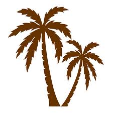 palm tree cuttable design