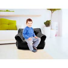 american kids bean bag chair with piping multiple colors