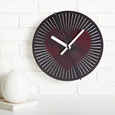 beating heart wall clock unique wall clocks optical illusions