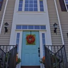just gave my house a facelift door paint color drizzle by sherwin