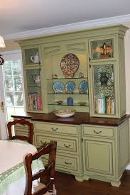 green cabinet hutch traditional kitchen chicago by great