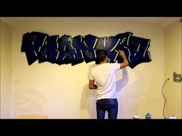 Graffiti Bedroom  My Little Cousin By Cero YouTube - Graffiti bedroom