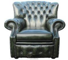 Chesterfield Wing Armchair Chesterfield Monks High Back Wing Chair Antique Green Uk