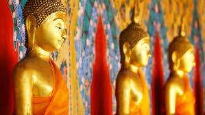 spiritual statues gold the symbol of the spiritual dulux