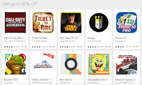 google play store july sale games apps movies tv shows and