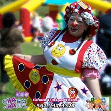 clowns for birthday in nyc charmandhappy jumpers bounce house sumos 562 237 3327 downey