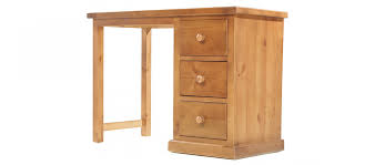 Solid Pine Table Devon Pine Dressing Table Quercus Living