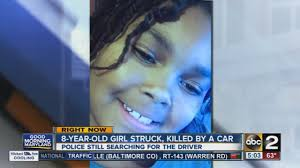 8 year hit killed by car