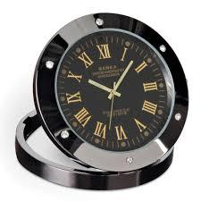 Coolest Clock by The Video Surveillance Clock Hammacher Schlemmer