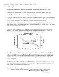 astronomy i test study guide chapter 28 stars and chapter 26 sun