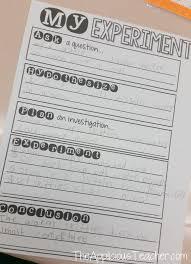 Scientific Method Worksheet For Kids Exploring Science Inquiry Skills The Applicious Teacher