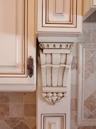Kitchen Glazed Cabinets Kitchen Glazed Antiqued White Cabinets Not Distressed