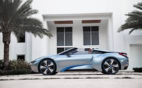 bmw supercar concept bmw i8 spyder plug in hybrid concept video electric vehicle news