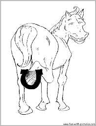 horses coloring pages in coloring pages of eson me