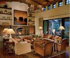 Old World Tuscan Living Room Interior Design For The Living Room - Tuscan style family room