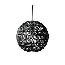 Pendant Lights Australia Modern Black Woven Pendant Light 50cm Diameter Lighting Wholesalers