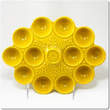 ceramic egg plate 233 best deviled egg trays images on deviled eggs egg
