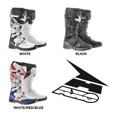 dc motocross boots axo 2017 mx one boots with free axo jersey pant gear set available