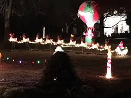 2016 best holiday decorations contest winners city of lakeside