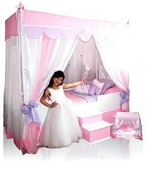 Princess Canopy Bed Frame Canopy Bed Princess Canopy Size Bed Furniture