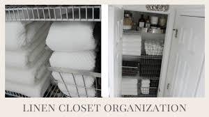 Closet Organization Home Organization My Linen Closet Organization U0026 Tips Youtube