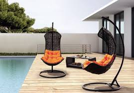 Trully Outdoor Wicker Swing Chair by Good Placements For Outdoor Swing Chairs U2014 Home Design Blog