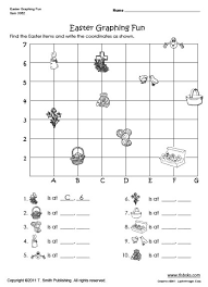 easter graphing worksheet