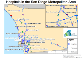 Ucsd Maps Healthcare In The San Diego Metro Area Three Scale Research