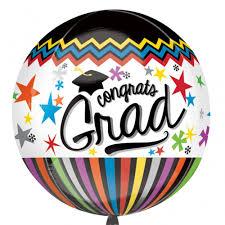 graduation balloon foil helium fill congrats graduate balloon