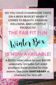 home decor subscription box fabfitfunpartner fab fit fun winter box subscription box