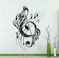 wall ideas music note wall decor music wall art decals country musical note wood wall decor music wall decor treble clef wall decal musical notes music recording studio vinyl sticker home interior decoration fashion art