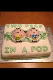 twin baby shower cake fabulous cakes pinterest shower cakes